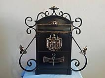 Dekorácie - kovová poštová schránka - 8219550_