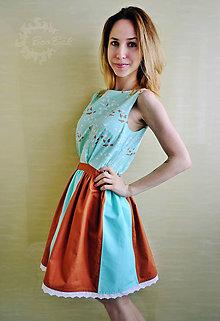 17f5d32f1645 Šaty - Romantické šaty s vtáčikmi - 8221934