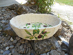 Košíky - Košík s olivami - 8220325_