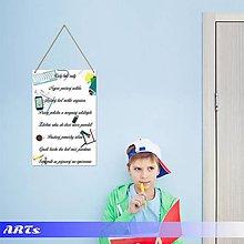 Dekorácie - (061t) Tabuľka - Pravidlá našej triedy II. - 8221075_