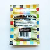 - Batikovacia farba na bavlnu, viskózu, ľan - 20 g (tmavohnedá) - 8221352_