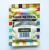 - Batikovacia farba na bavlnu, viskózu, ľan - 20 g (khaki) - 8221414_