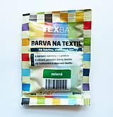 - Batikovacia farba na bavlnu, viskózu, ľan - 20 g (zelená) - 8221420_
