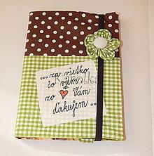 Papiernictvo - Zápisník - Pre pani učiteľku (n.2) - 8219441_