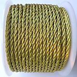 Galantéria - Šnúra točená s lurexom-1m - 8219723_