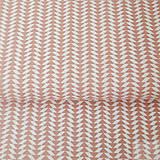 Textil - ružové minišípky; 100 % bavlna Francúzsko, šírka 160 cm, cena za 0,1 m - 8220516_