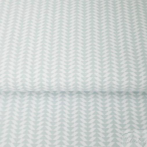svetlomodré minišípky; 100 % bavlna Francúzsko, šírka 160 cm, cena za 0,1 m