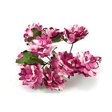Papier - Astra z morušového papiera - tmavo-ružové (1,5cm) - 8219461_