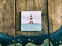 Papiernictvo - Leporelo 13x13 ,,Lighthouse,, (dočasne nedostupné) - 8220172_