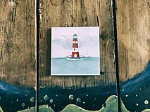 Papiernictvo - Leporelo 13x13 ,,Lighthouse,, - 8220172_