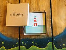 Papiernictvo - Leporelo 13x13 ,,Lighthouse,, - 8220179_