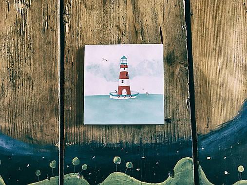 Leporelo 13x13 ,,Lighthouse,,