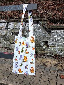 Nákupné tašky - taška s dětskými obrázky - 8221120_