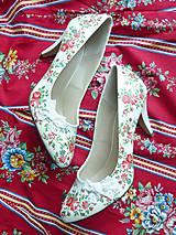 Obuv - Rozkvitla lúka topánočky - 8221418_