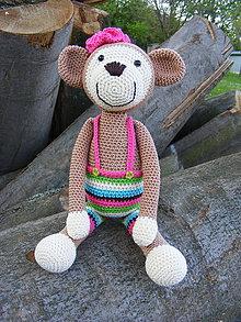Hračky - Opička Katka č. 4 - 8222028_