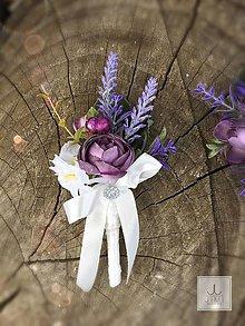 Pierka - Pierko pre ženícha Lila - 8221236_