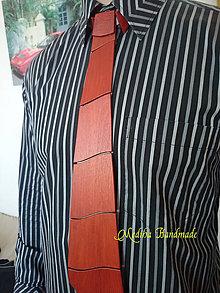 Doplnky - Drevená kravata - Delisa - 8222245_