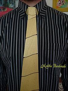 Doplnky - Drevená kravata - Saša - 8222262_