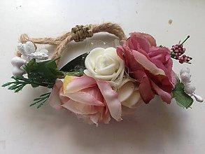 Náramky - Náramok alebo ozdoba na cop-zlava - 8221594_