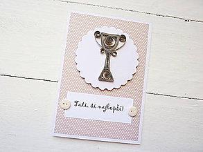 Papiernictvo - pohľadnica pre tatina - 8221245_