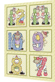 Textil - BAVLNĚNÝ PANEL - SADA 27 x 40 cm MD28 - 8223631_