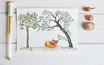 Papiernictvo - Pohľadnica Líška - 8222656_