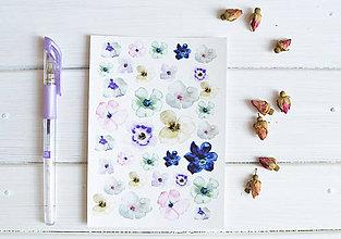 Papiernictvo - Pohľadnica Kvety - 8222688_