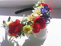 Kvetinová čelenka do vlasov