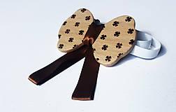 Iné doplnky - Dámsky motýlik - štvorlístok - 8224138_