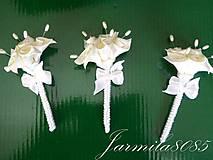 Svadobné pierka pre rodičov a svedkov
