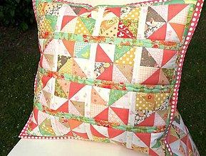 Úžitkový textil - Strawberries ... vankúš No. 2 - 8226472_