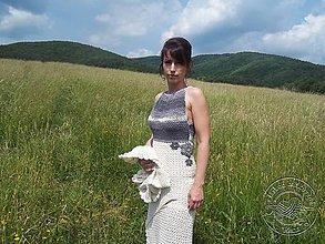 Šaty - Háčkovaná súprava - 8225321_
