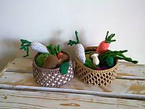 Hračky - Montessori - kosik so zeleninkou - 8226868_