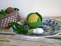 Hračky - Montessori - kosik so zeleninkou - 8226874_