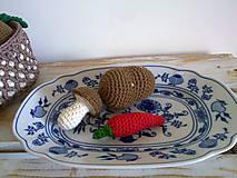 Hračky - Montessori - kosik so zeleninkou - 8226875_