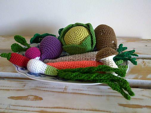 Montessori - kosik so zeleninkou