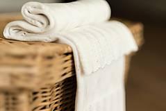 "Textil - Letná detská deka, ""Daisy"",OEKO-TEX® - Smotanová - 8226641_"