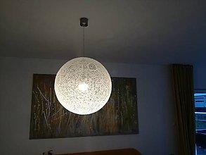 Svietidlá a sviečky - Lampa špagátová 90 - 8227201_