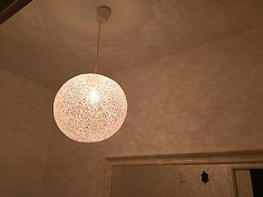 Svietidlá a sviečky - Špagàtovà lampa 40 - 8227227_