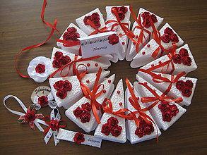 Darčeky pre svadobčanov - Darčeková krabička - 8224463_