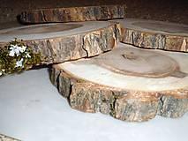 - vintage svadba/podložky z drevených plátov 6 - 8227247_