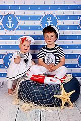 Detské oblečenie - KAPITÁNEM PRÁZDNINOVÉ LODI - vel. 110 - 8227176_