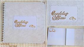 Papiernictvo - Svadobný fotoalbum - 8227003_