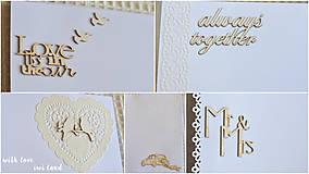 Papiernictvo - Svadobný fotoalbum - 8227007_