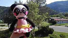 Detské doplnky - Panda Nelka - 8224946_