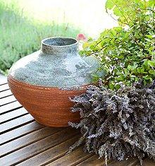 Nádoby - indiánske leto - váza - 8225016_