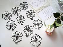 Darčeky pre svadobčanov - ☘ štvorlístok  III ☘ - 8224462_