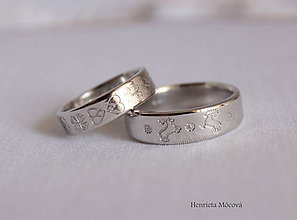 Prstene - svadobné obrúčky - Hranovnica, Šuňava - 8224590_