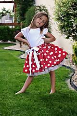 Detské oblečenie - suknička 2v1 - 8228101_
