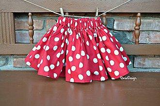 Detské oblečenie - bavlnená suknička - 8228147_